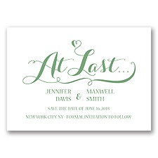 Love at Last - Clover - Save the Date