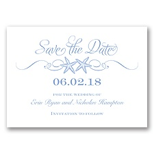 Sweetly Starfish - Bluebird - Save the Date