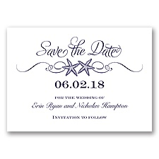 Sweetly Starfish - Lapis - Save the Date