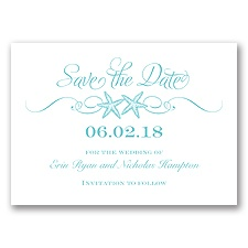Sweetly Starfish - Pool - Save the Date