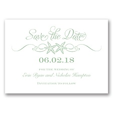 Sweetly Starfish - Meadow - Save the Date
