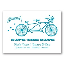 Tandem Bike - Malibu - Save the Date