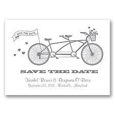 Tandem Bike - Mercury - Save the Date