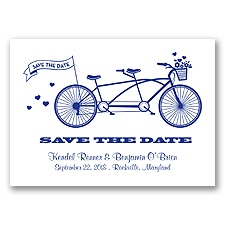 Tandem Bike - Regency - Save the Date