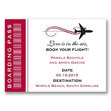 Boarding Pass Magnet