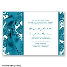Floral Patterned - Oasis - Invitation