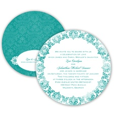Very Vintage - Jade - Invitation