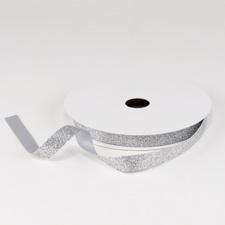 Silver Glitter Ribbon