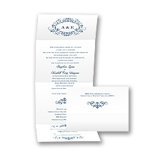 Medallion Seal and Send - Marine - Invitation