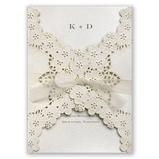 Floral Embossed Lace