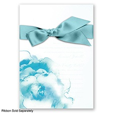 Ombre Elegance - Pool - Invitation