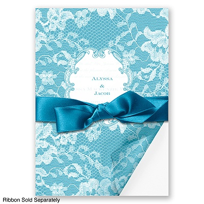 Lace Wrap - Malibu - Invitation