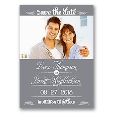 Sweetest Date - Mercury - Photo Save The Date Magnet