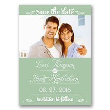 Sweetest Date - Meadow - Photo Save The Date Magnet