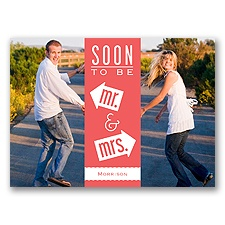 Fun-Filled Photo - Guava - Save The Date Postcard