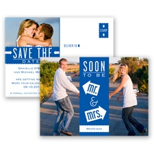 Fun-Filled Photo - Horizon - Save The Date Postcard