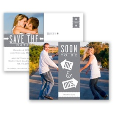 Fun-Filled Photo - Mercury - Save The Date Postcard