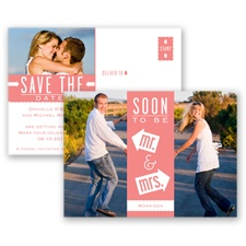 Fun-Filled Photo - Coral Reef - Save The Date Postcard