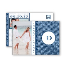 Greek Isles Photo - Marine - Save the Date Postcard