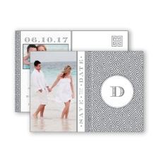 Greek Isles Photo - Mercury - Save the Date Postcard
