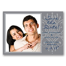 Henna Spice - Mercury - Save the Date Magnet