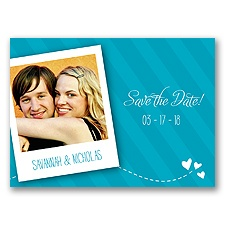 Snappy Snap Shot - Malibu - Save the Date Postcard