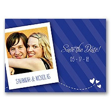 Snappy Snap Shot - Regency - Save the Date Postcard