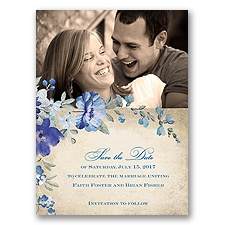 Floral Romance - Horizon - Save the Date