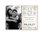 Getting Hitched With Style Glitter - Save the Date