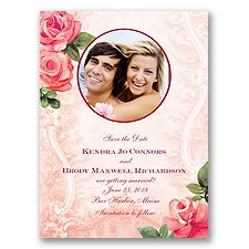 Regal Roses - Apple - Save the Date