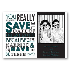 Ga Ga Photo - Gem - Save the Date Magnet