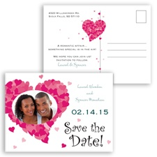 Sweetheart Photo - Gem - Save the Date Postcard