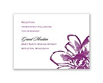 Plumeria Fantasy - Reception Card