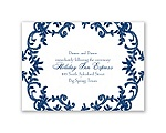 Down Home Lace - Reception Card