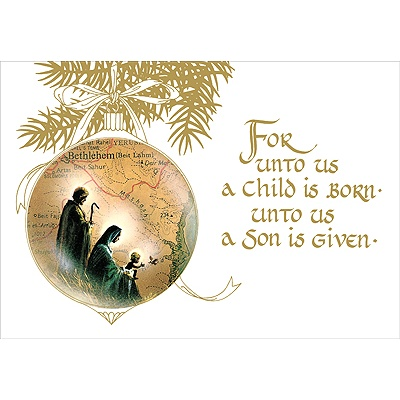 A Child Is Born   acsgreetings.org