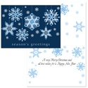 Ribbon Snowflakes - Blue Ribbons