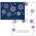 Ribbon Snowflakes - Purple Ribbons