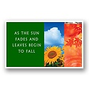 As Seasons Change E-Card