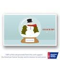 Snow Globe Magic Interactive E-card