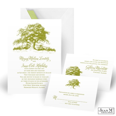 ... Wedding · Wedding Invitations · Rustic Tree Wedding Invitation Kit