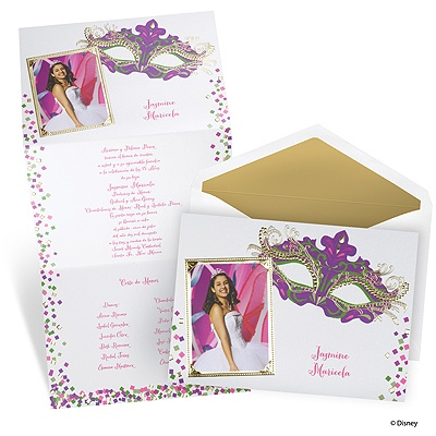Masquerade Quinceanera Invitations is one of our best ideas you might choose for invitation design