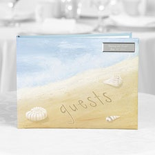 Beautiful Beach Guest Book