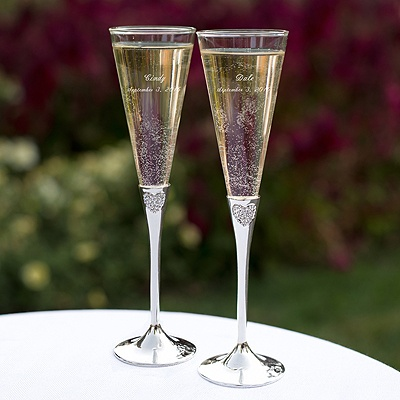 toasting flutes wedding champagne glasses at michaels custom