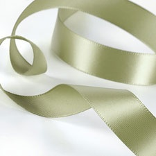 Olive Satin Ribbon
