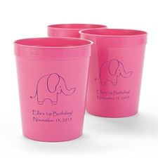 Pink Personalized Cup