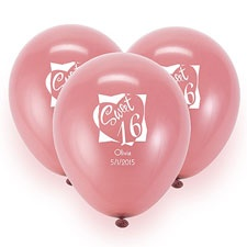 Fuchsia Custom Balloon