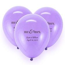 Lavender Custom Balloon