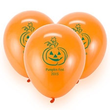 Orange Custom Balloon