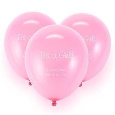 Pink Custom Balloon