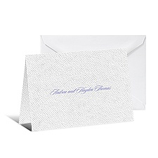 Symphony of Lace Thank You Card